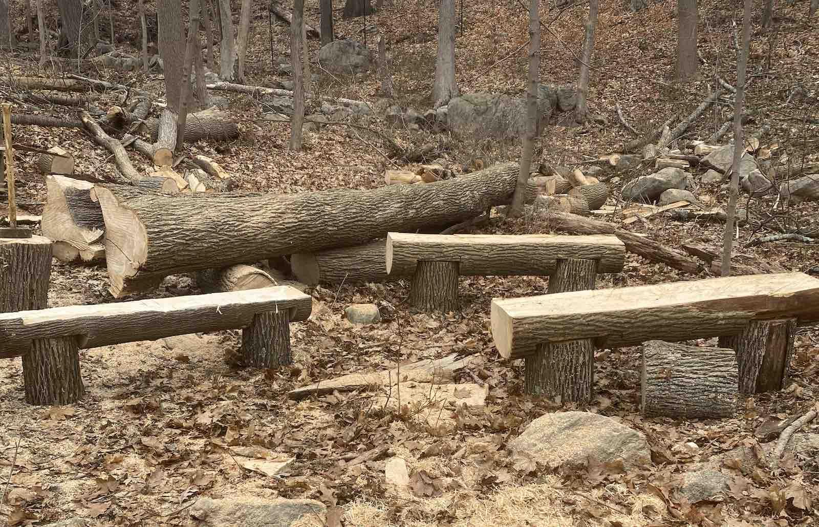 JMD Landscaping handmade benches